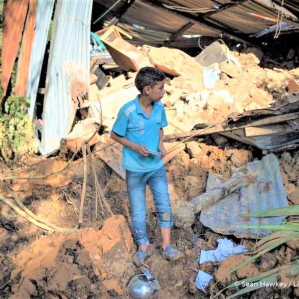 boy landslide