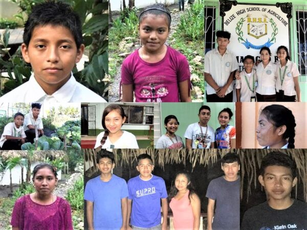 SHARE scholarship students in Guatemala, Belize